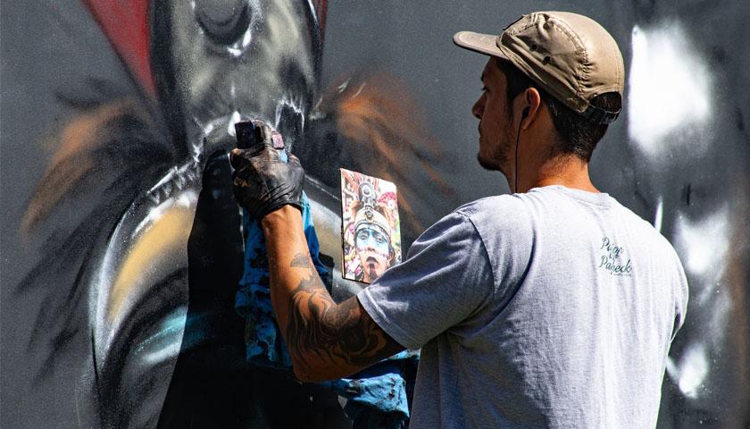 Street Art i den midtjyske by Brande